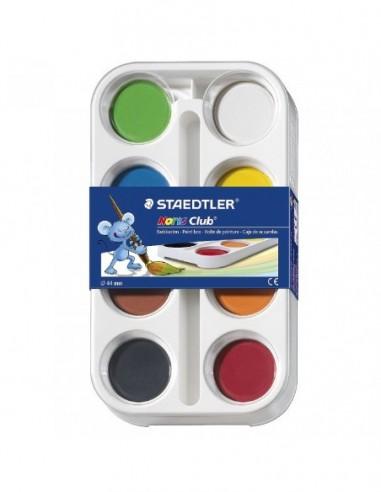 Acuarelas Staedtler 8 colores