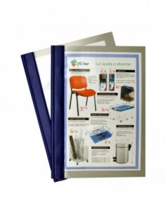 Carpeta-Dossier FASTENER Azul
