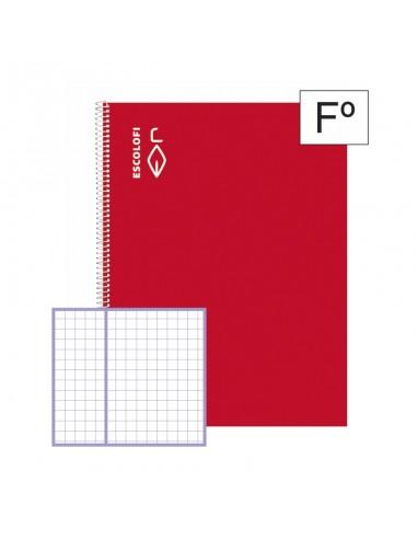 Cuadernos con espiral 50h ESCOLOFI