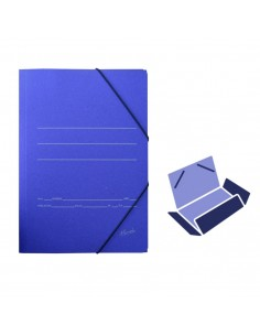Carpeta cartón Azul Fº...