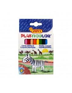 Ceras Plasticolor 12 colores