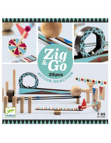 Circuito de canicas ZIG & GO 28 Piezas