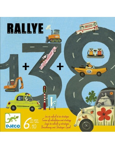Juego educativo matemático Rallye