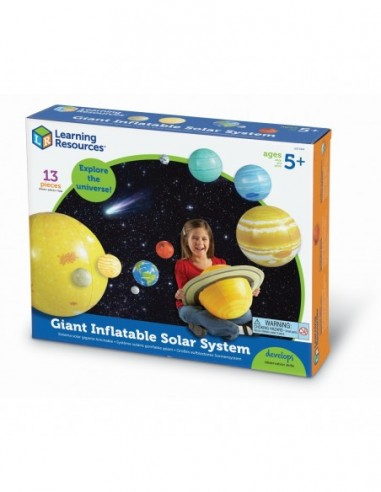 Sistema solar inflable
